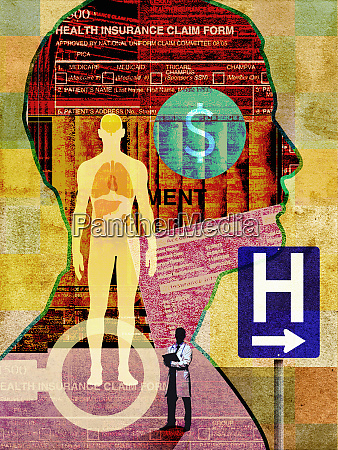 medical insurance collage