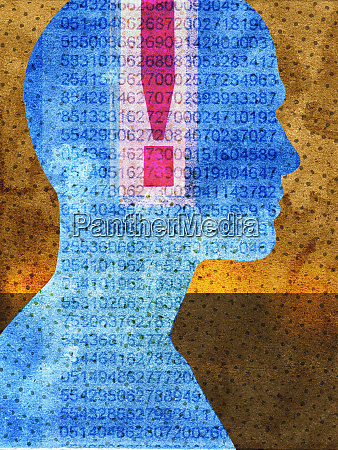 exclamation mark and data inside of