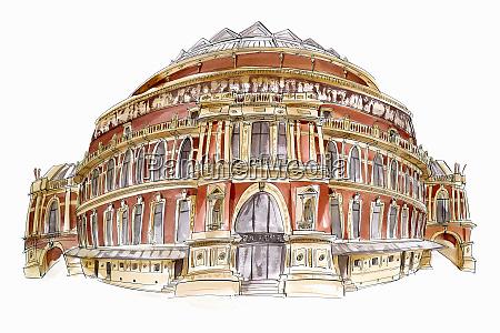 royal albert hall london england