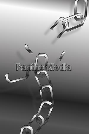links breaking on chain