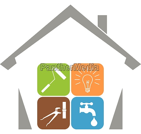 house janitor tools professions business property