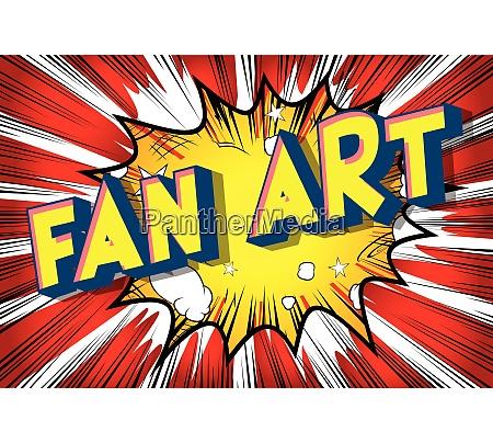 fan art vector illustrated comic