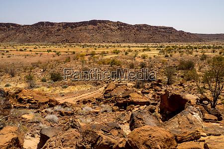 namibia dolomite rocks in damaraland