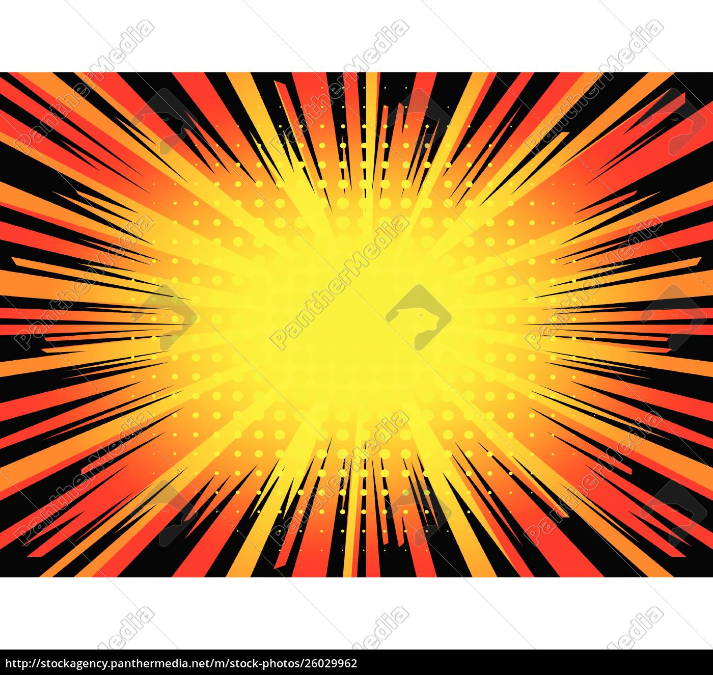 comic, book, explosion, background. - 26029962
