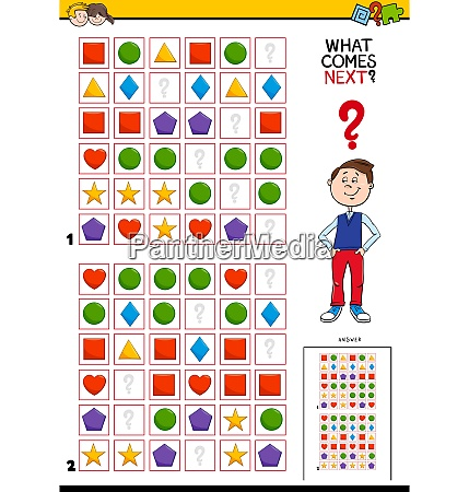fill the pattern educational activity for