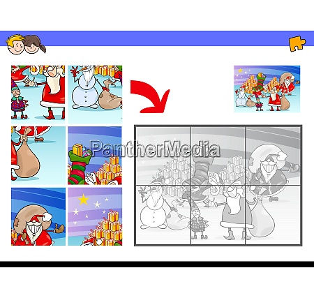 jigsaw puzzles with christmas characters