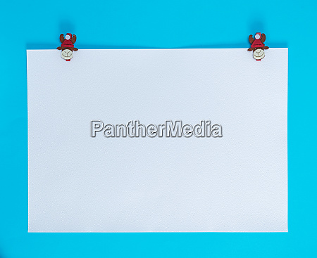 white square sheet of paper on