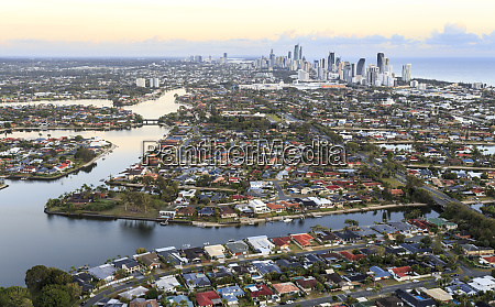 stunning view of the gold coast