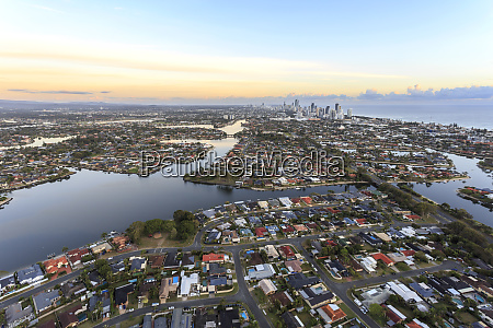 wonderful view of the gold coast