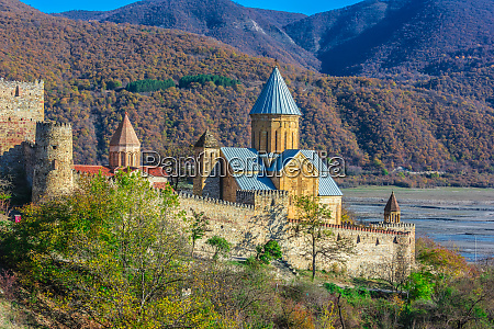 ananuri castle and church of the