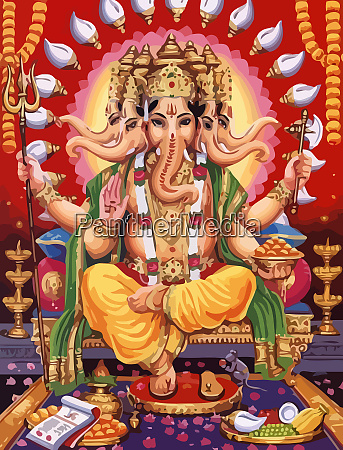 ganesha hindu lord faith mythology bless