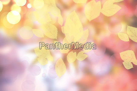 abstract autumn gradient yellow pink bright