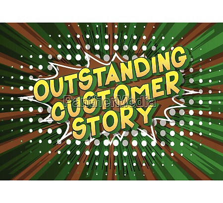 outstanding, customer, story, -, comic, book - 26047935