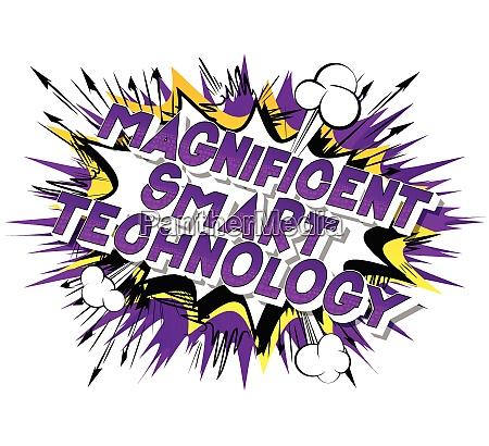magnificent smart technology comic book