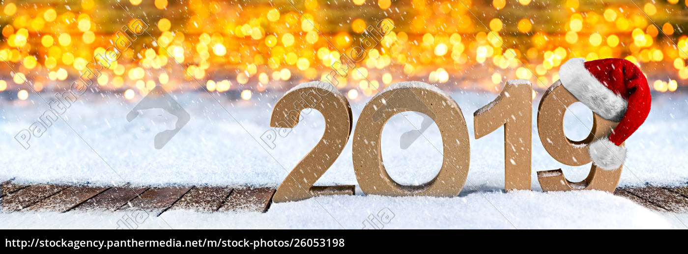 2019, happy, new, year, christmas, greeting - 26053198