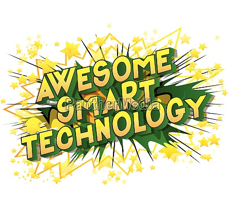 awesome, smart, technology, -, comic, book - 26053396
