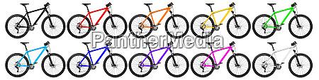 mountain bike set
