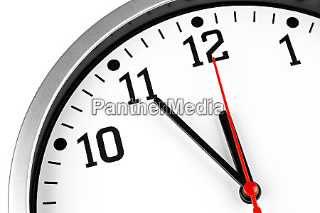 5 to 12 clock