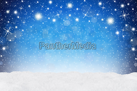 xmas background blue snow