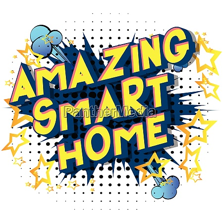 amazing smart home comic book