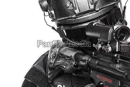 spec ops police officer swat