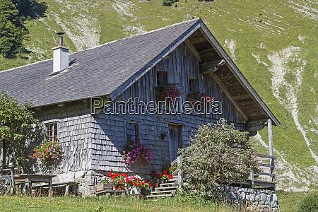 stubner hut in salzkammergut