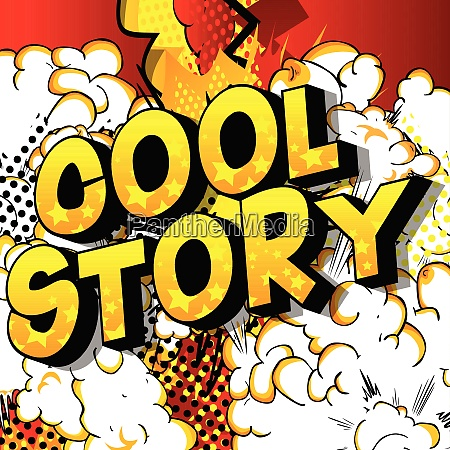 cool story comic book style