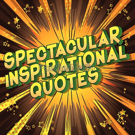 spectacular inspirational quote comic book