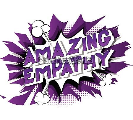 amazing empathy comic book style