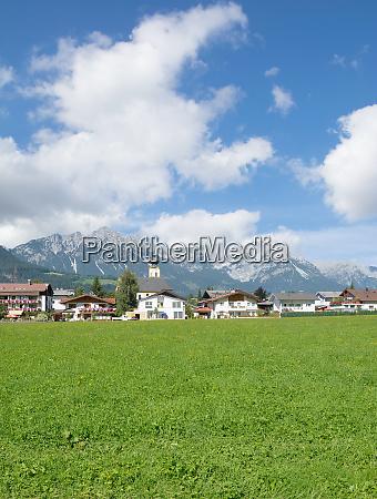 village of soell in tirol austria