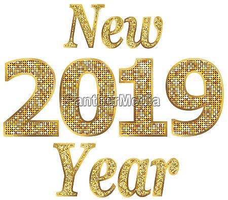 new year 2019 holiday seasonal celebration