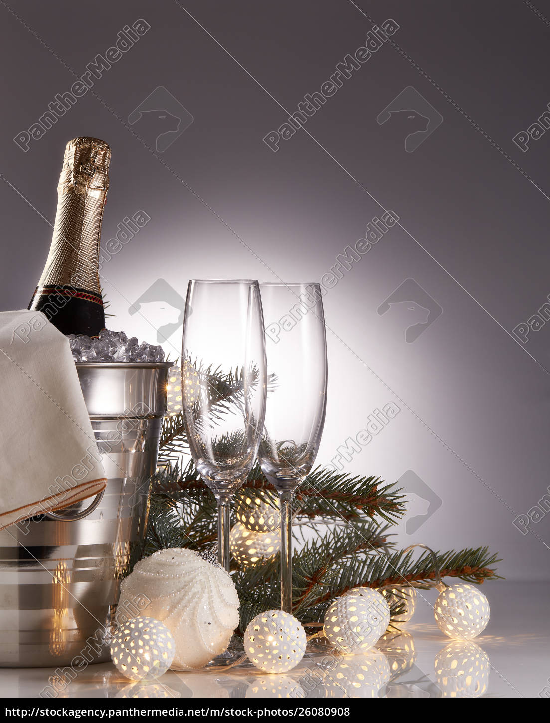 champagne, and, christmas, and, new, year - 26080908