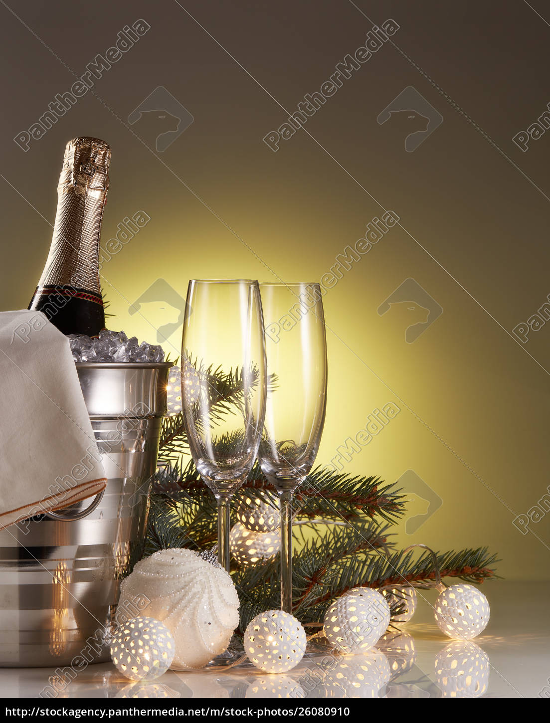 champagne, and, christmas, and, new, year - 26080910