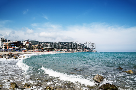 scenic view of pietra ligure liguria