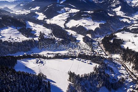 austria alps ballooning in the