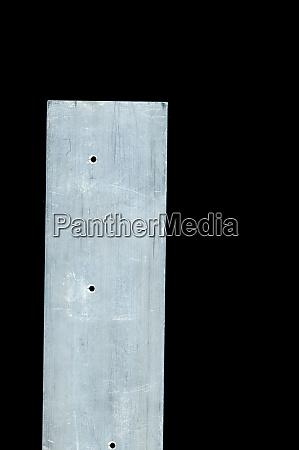 aluminium metal bar