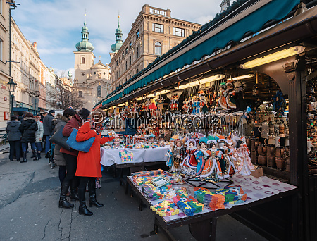 souvenir shop at havel market in