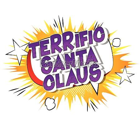 terrific santa claus comic book