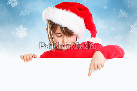 christmas child kid girl santa claus