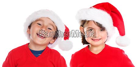children kids boy girl christmas santa