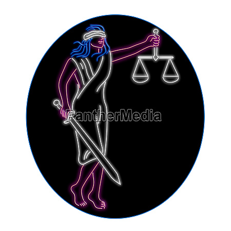 lady justice holding sword and balance