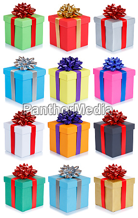 collection of birthday gifts christmas wedding