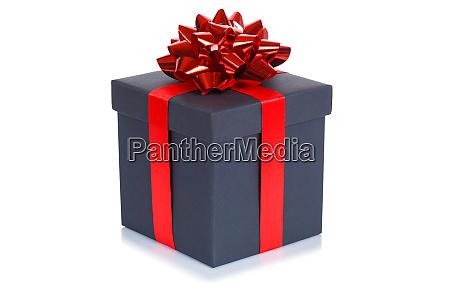 birthday gift christmas present black box