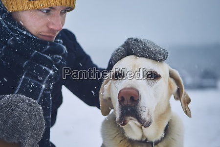 friendship between pet owner and his