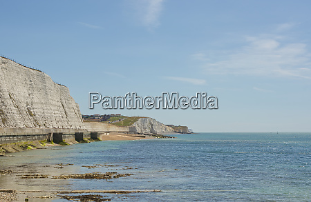 seafront at rottingdean england