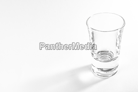 empty full shot glass party drinking