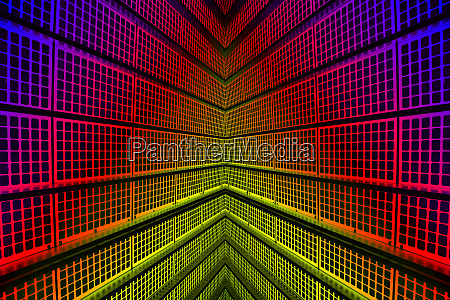 colorful grid