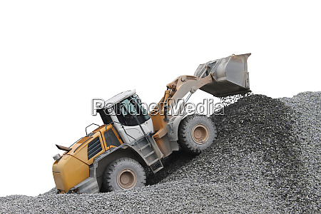 gravel extraction and processing