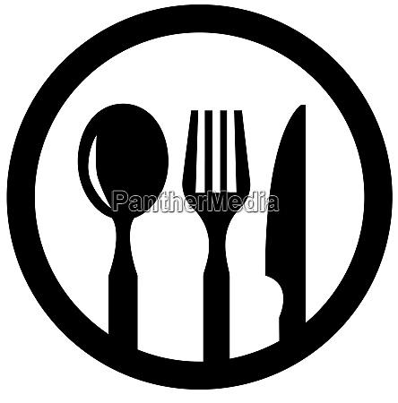 knife spoon fork equipment kitchen utensil