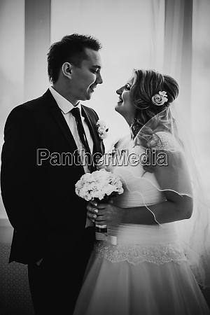 black white photography bride and groom